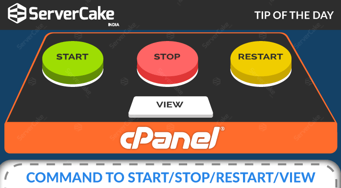 Commands of cPanel Services