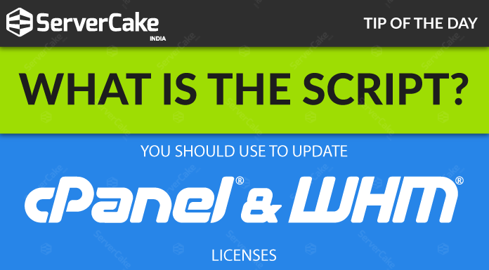 cPanel WHM Licenses