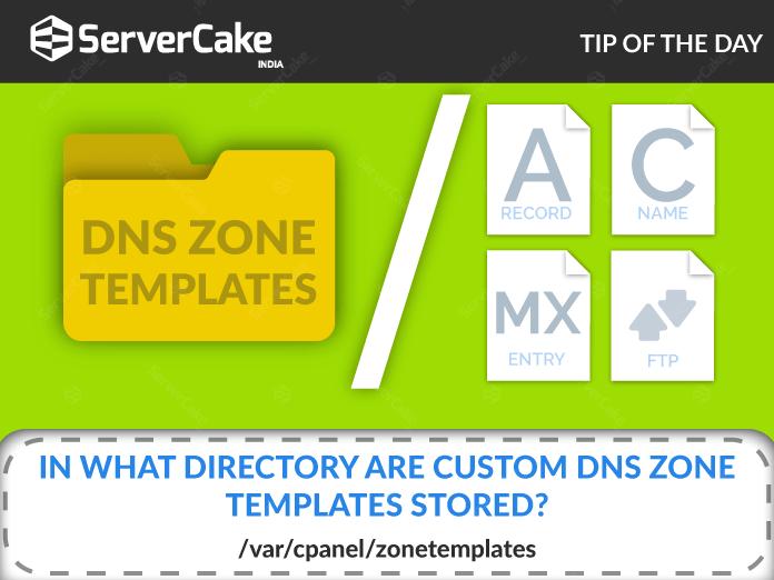 DNS Zone Templates