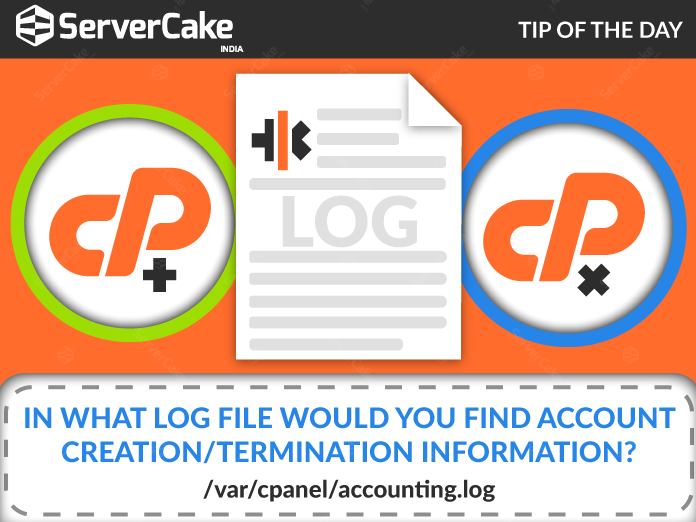 Logfile with Account Information