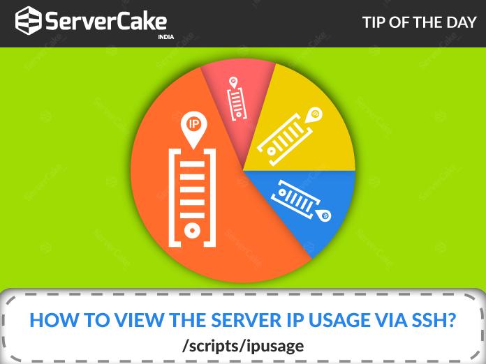 Server IP usage