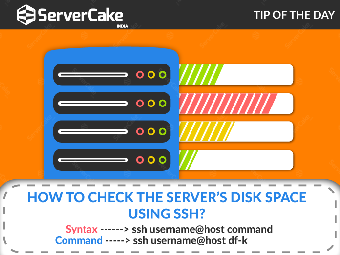 Finding Disk Space via SSh