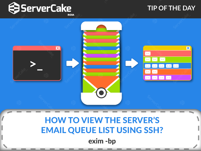How to view the Server's Email Queue List using SSH