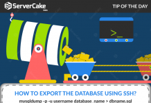 Export the Database