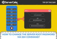 Server root password