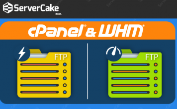 which two FTP servers available in cPanel and WHM