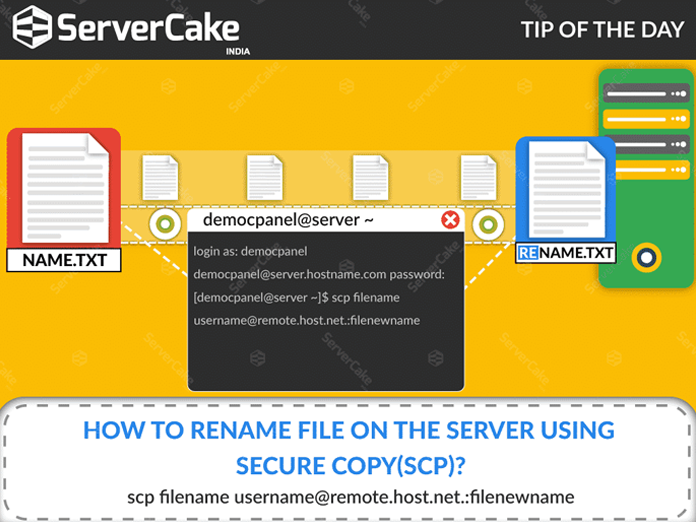 Secure copy