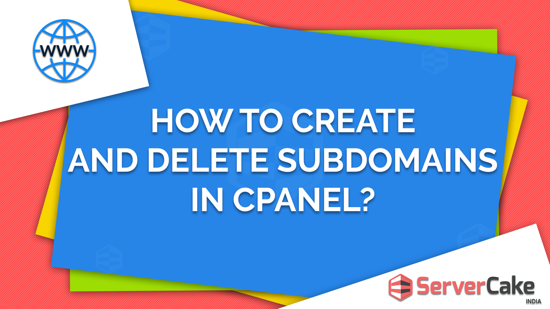 Create and Delete Subdomain in cPanel