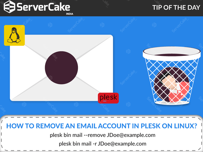 Remove Email Account in Plesk