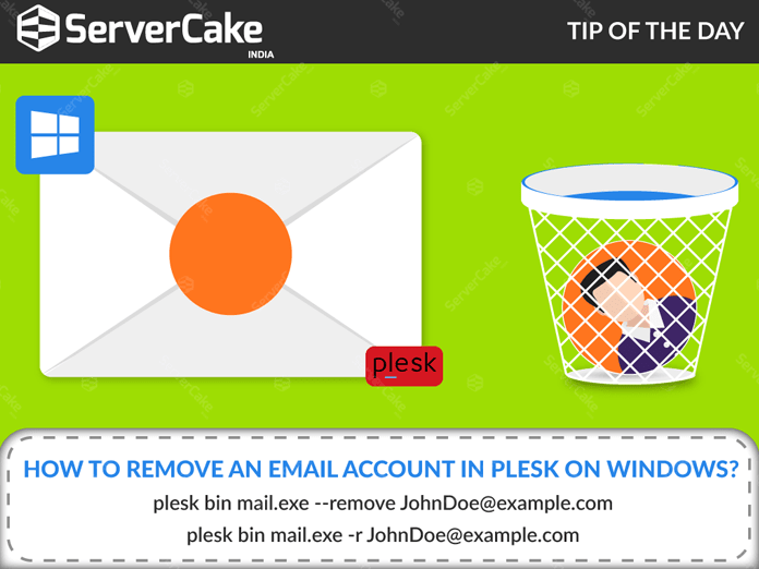 Remove Email Account on Plesk