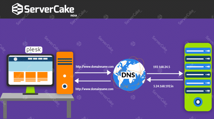 DNS Graphicall Illustration