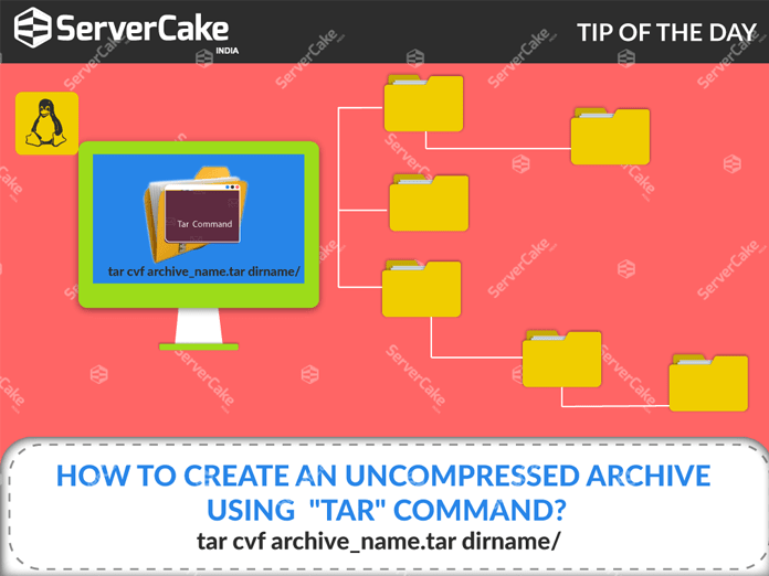 how to create tar file in linux