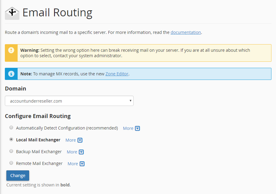 Email Routing