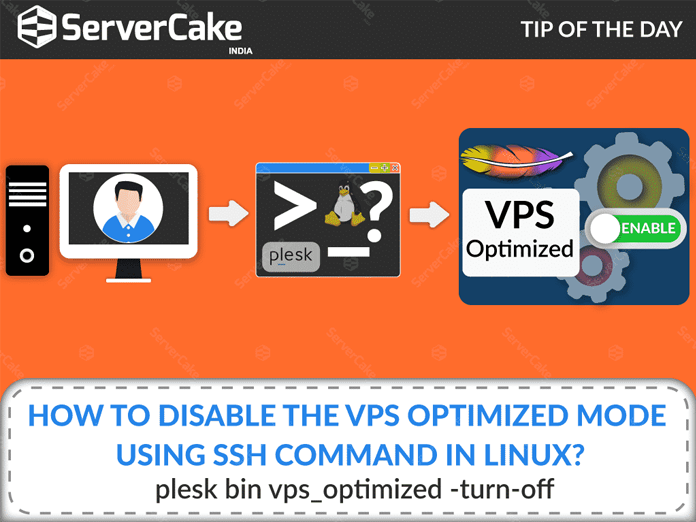 How to disable the VPS optimized mode using ssh command in
