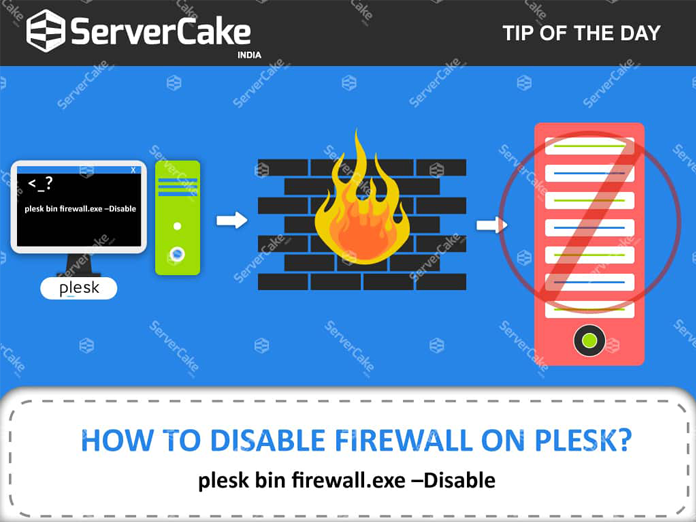 How to disable the firewall on Plesk? - ServerCake India