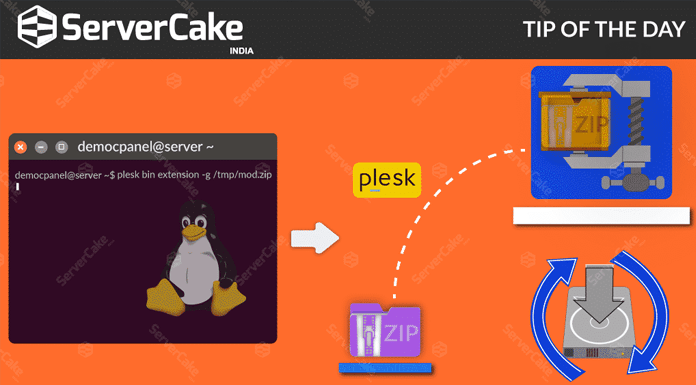 Upgrade an Already Installed Extension in Plesk