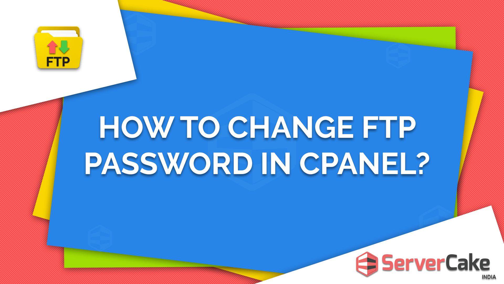 To Change FTP Password in cPanel