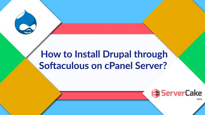 Install Drupal through Softaculous on cPanel Server