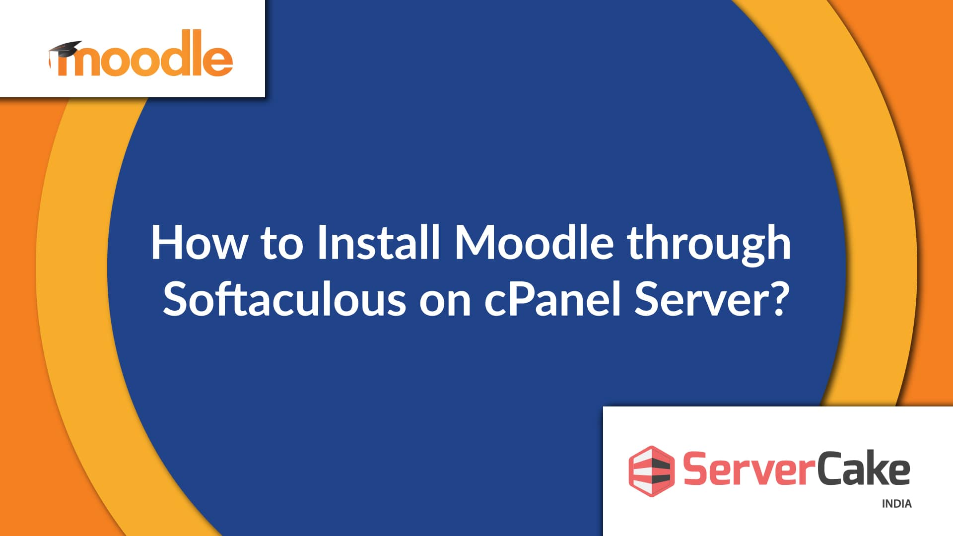 Install Moodle through Softaculous on cPanel