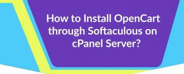 Install OpenCart