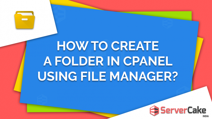 Create a folder in cPanel using File Manager