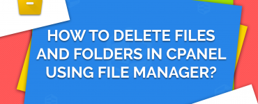 Delete File and Folder in cPanel using File Manager
