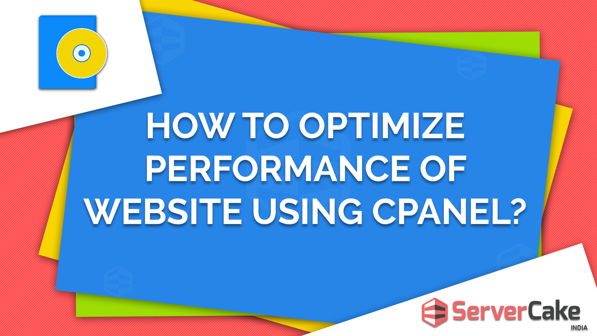 How to optimize performance of website using cPanel
