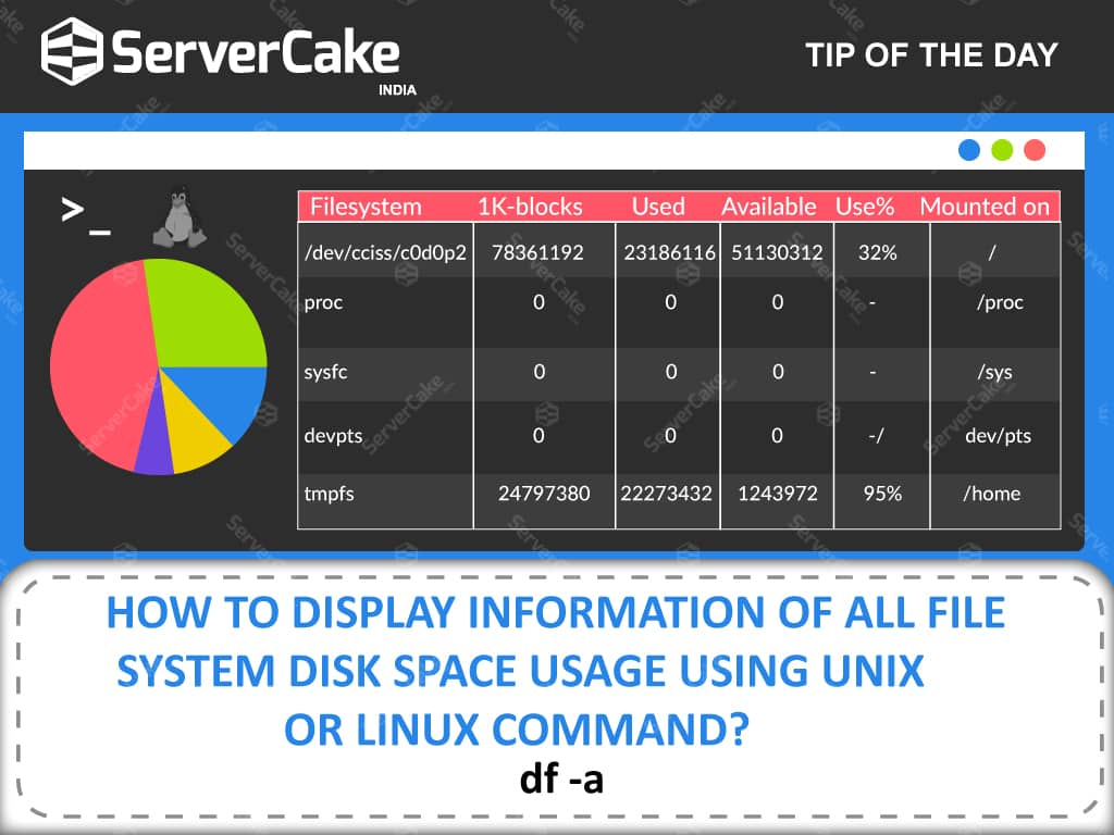 File System Disk Space Usage