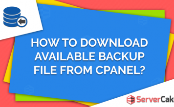 Download Available Backup File from cPanel