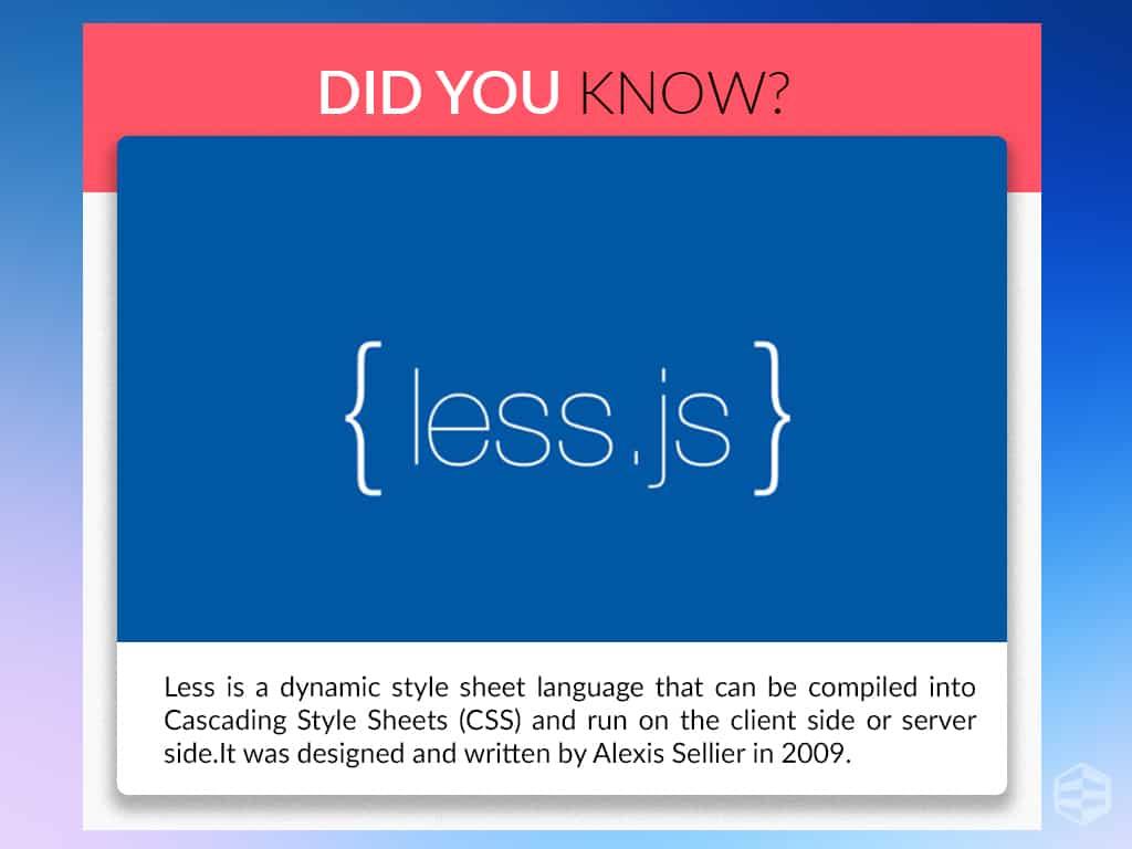 Less JS
