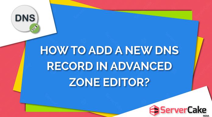Add a new DNS record