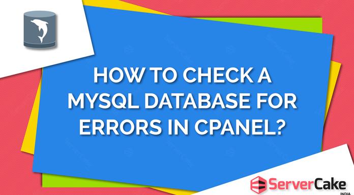 Check MySQL Database