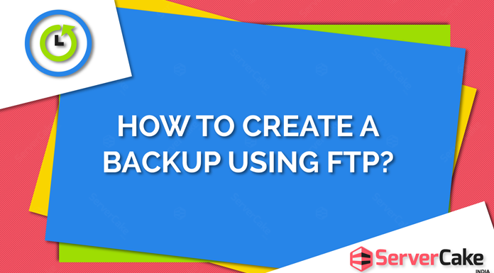 Create a backup using FTP