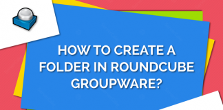 Create folder in RoundCube Groupware