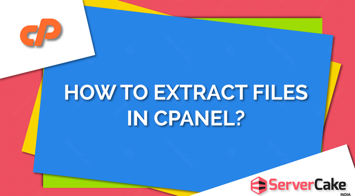 Extract files in cPanel