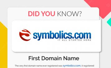 First Domain name