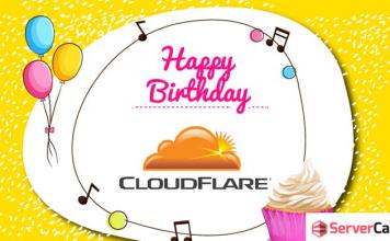 Happy birthday CloudFlare
