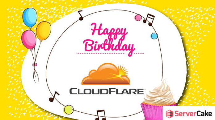 Happy birthday CloudFlare