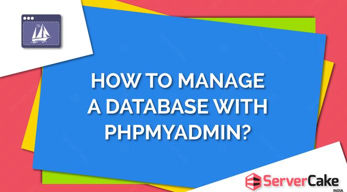 Manage a database