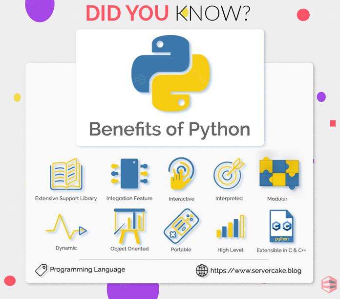 Benefit of Python