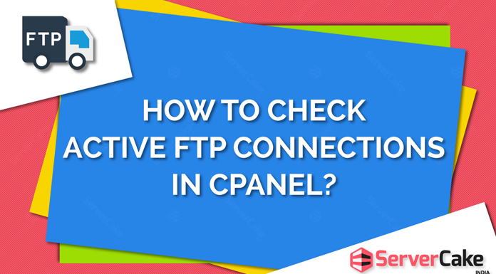 Check active FTP connections
