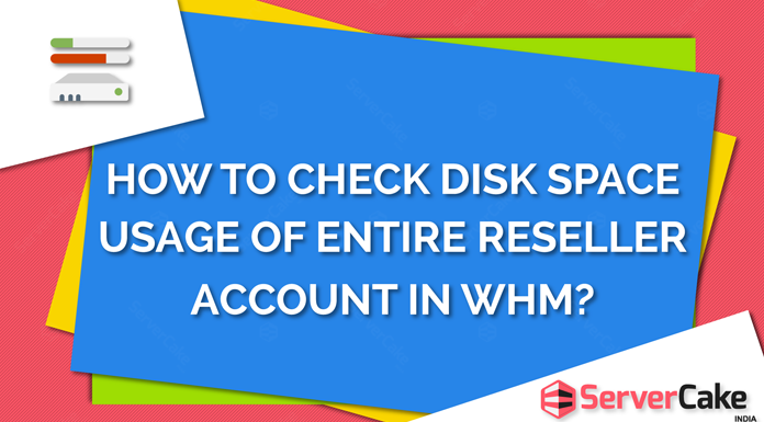 Check disk space usage