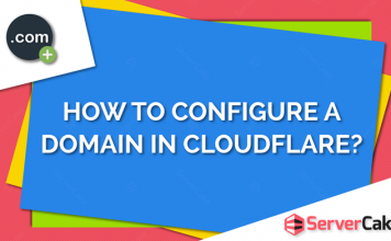 Configure a domain in Cloudflare
