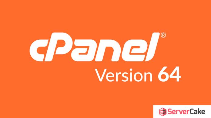 cPanel version 64