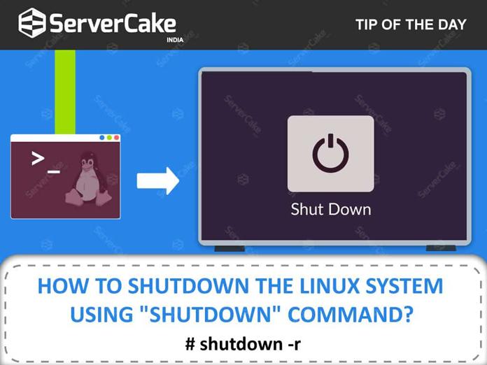 shutdown command in lunux