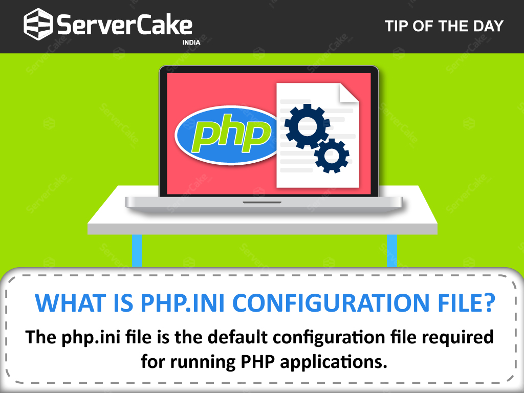 how to create php ini file