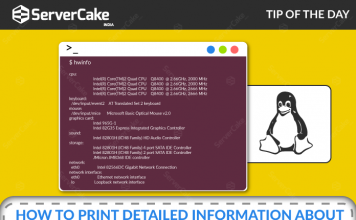 hwinfo command to print detailed hardware information in Linux