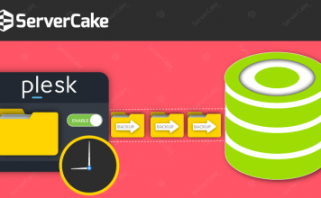 Enable Automatic Scheduled Backup in Plesk