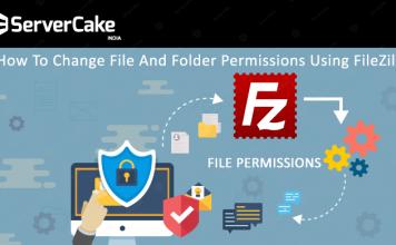 Change permissions using FileZilla