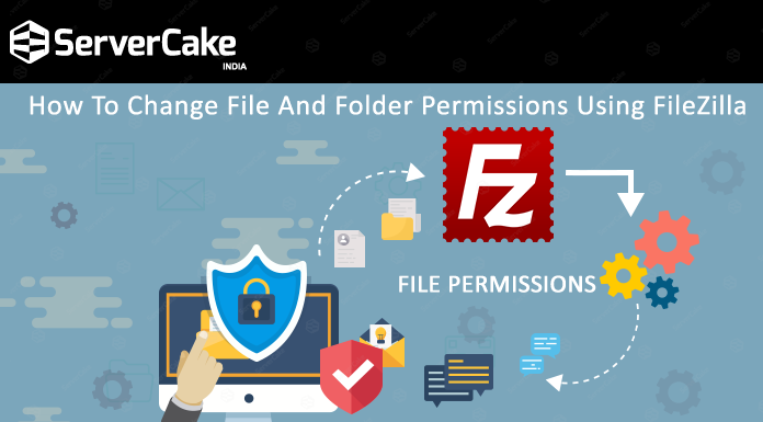 Change permissions using FileZilla